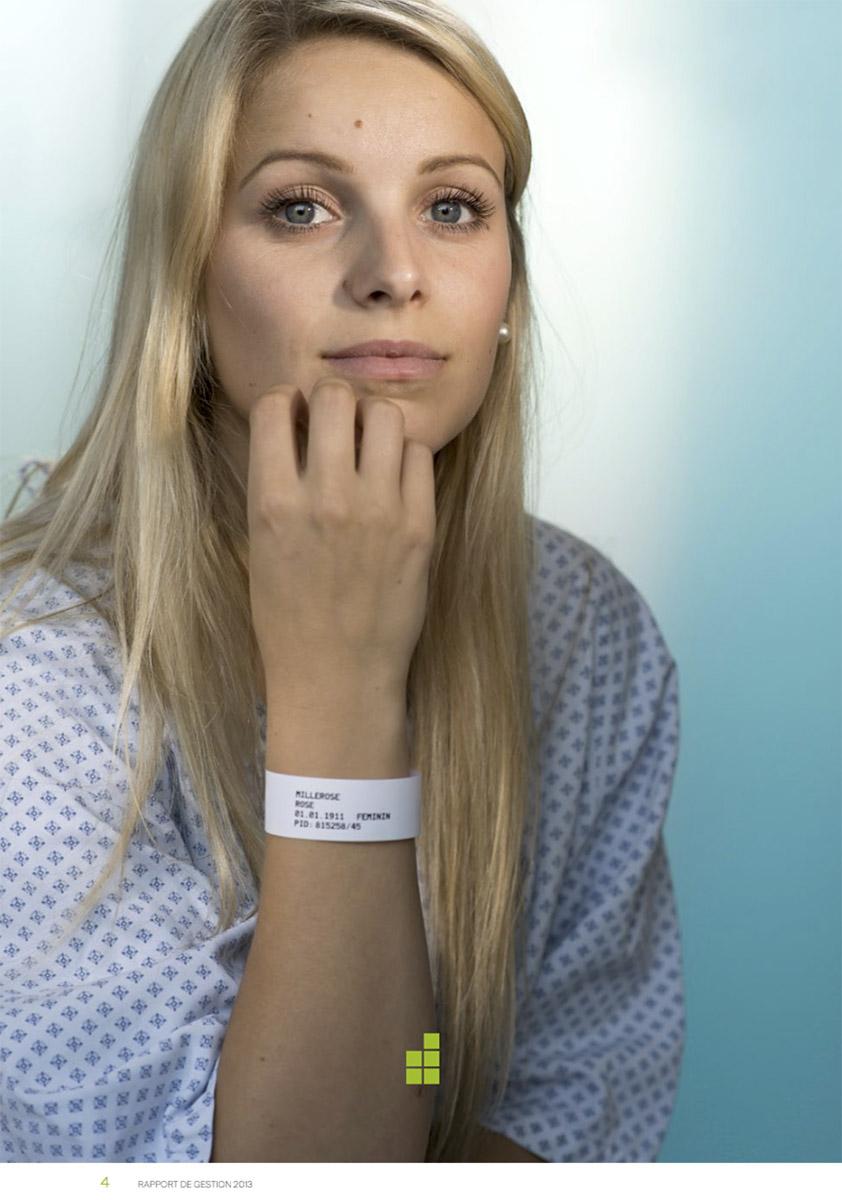 Rapport de gestion, hôpitaux © Thierry Porchet