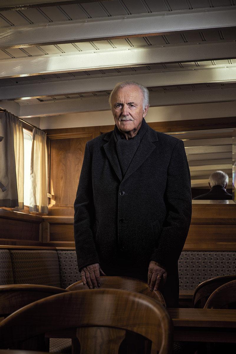 Willy Schaer, sauveur du bateau Le Neuchâtel