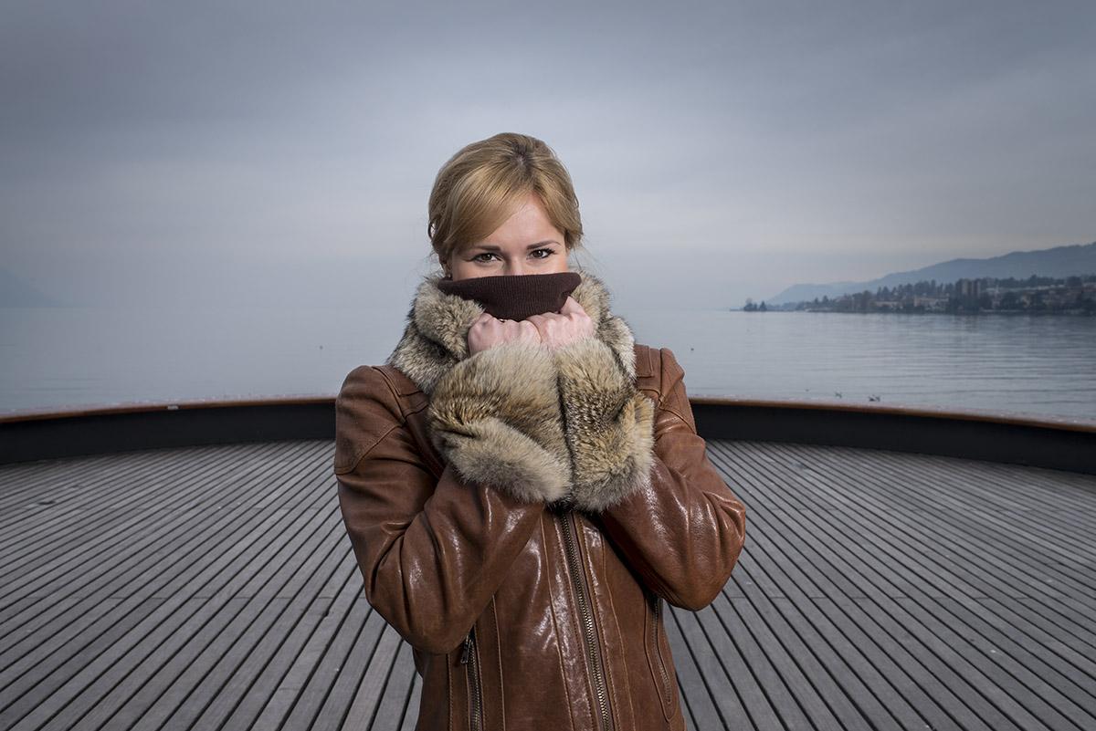 Natalia Yudochkina, propriétaire du restaurant le Métropole à Montreux