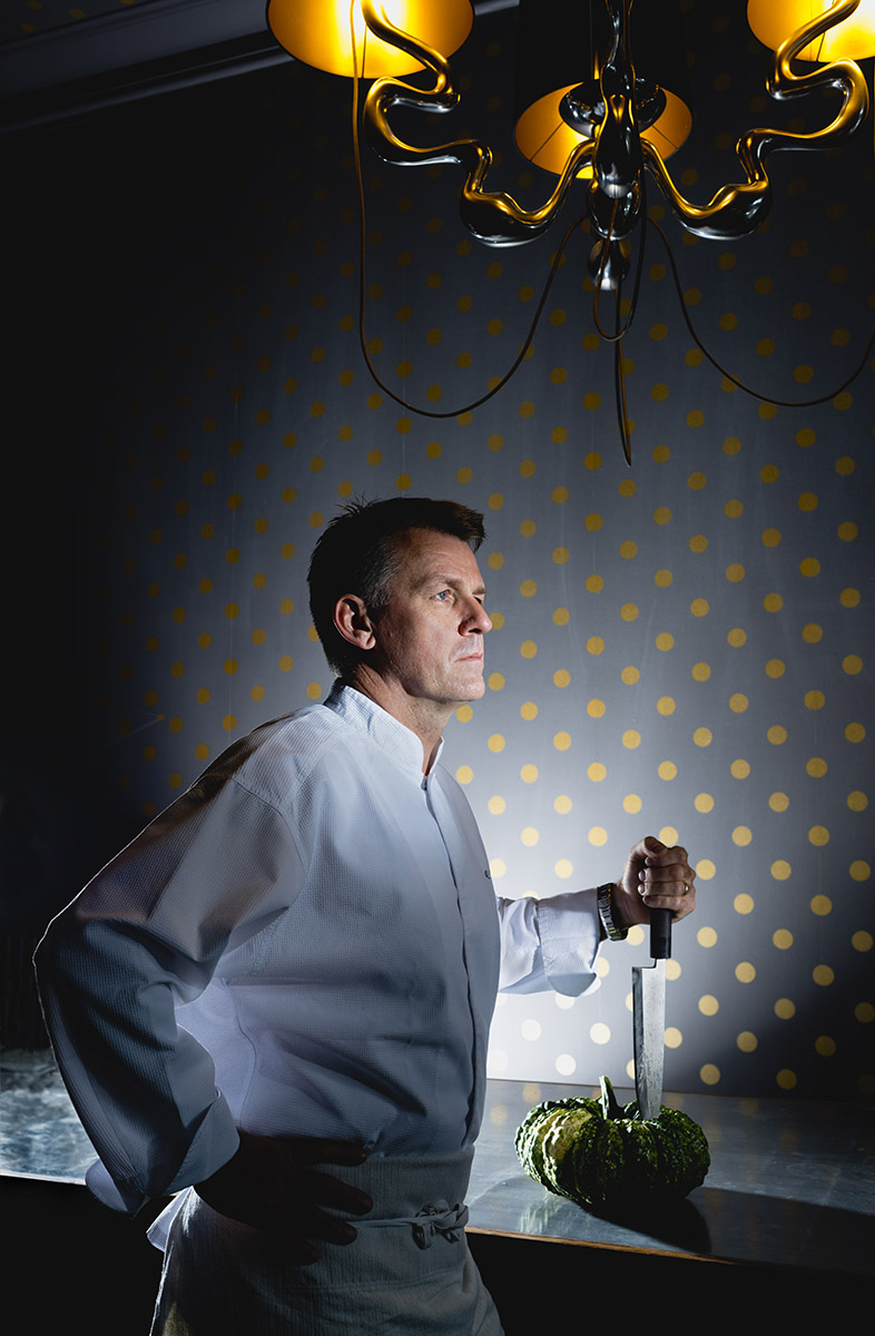 Craig Penlington, grand chef Hôtel DuPeyrou.© Thierry Porchet