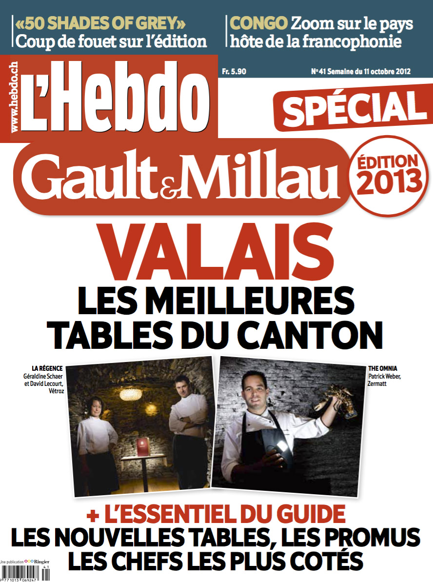 Couverture pour L'Hebdo. © Thierry Porchet