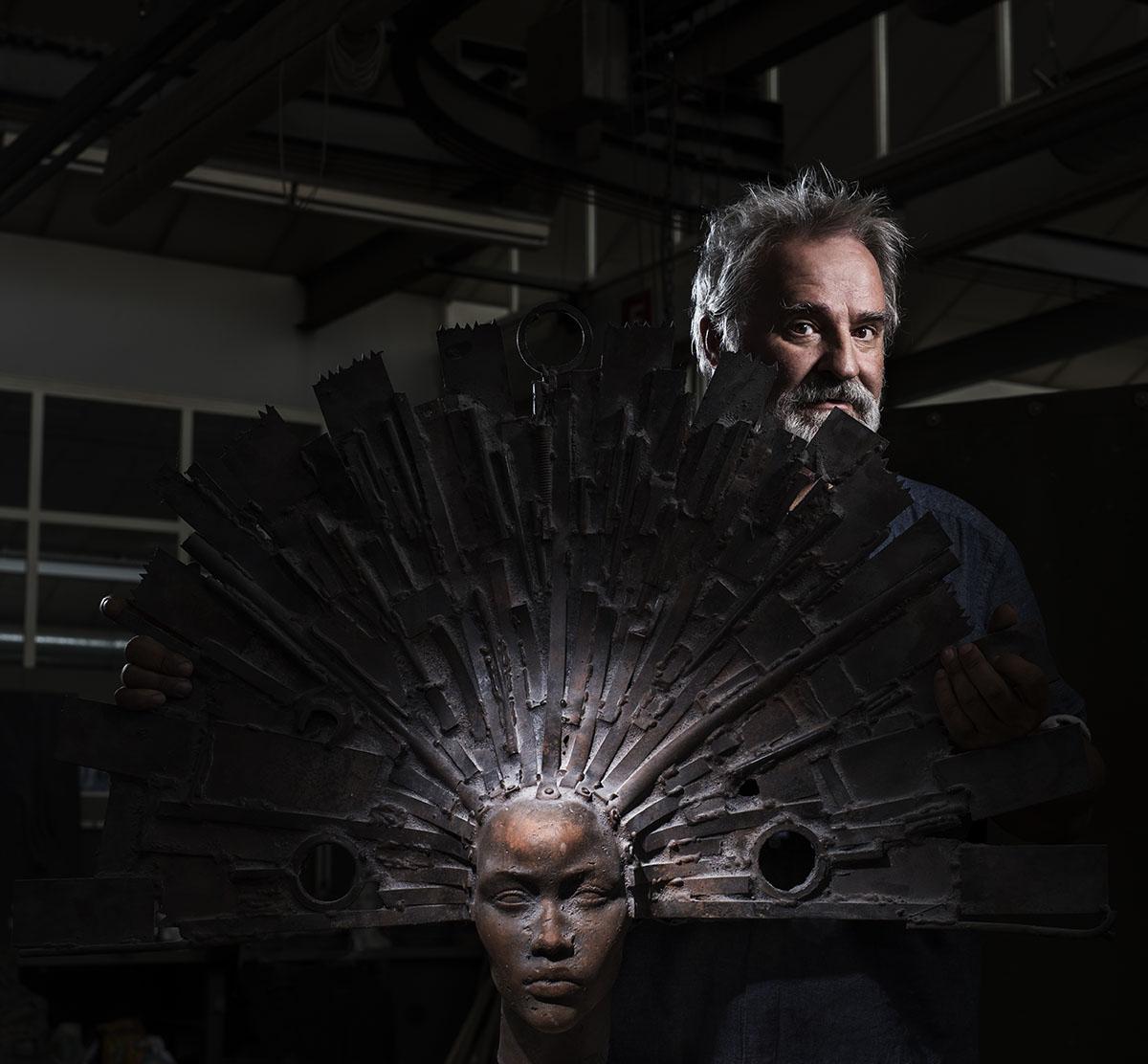 Daniel Harriet- tailleur de pierre, sculpteur © Thierry Porchet