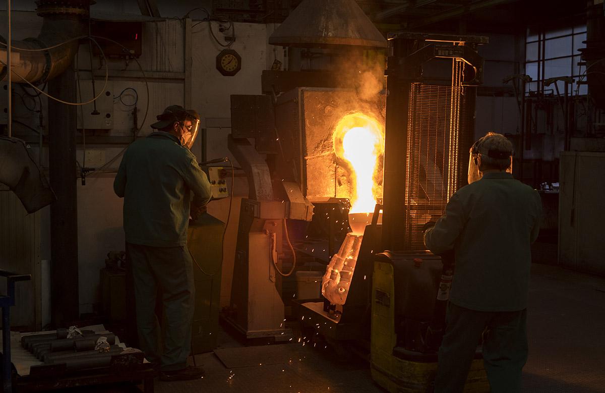 Industrie Precicast à Chiasso ©Thierry Porchet