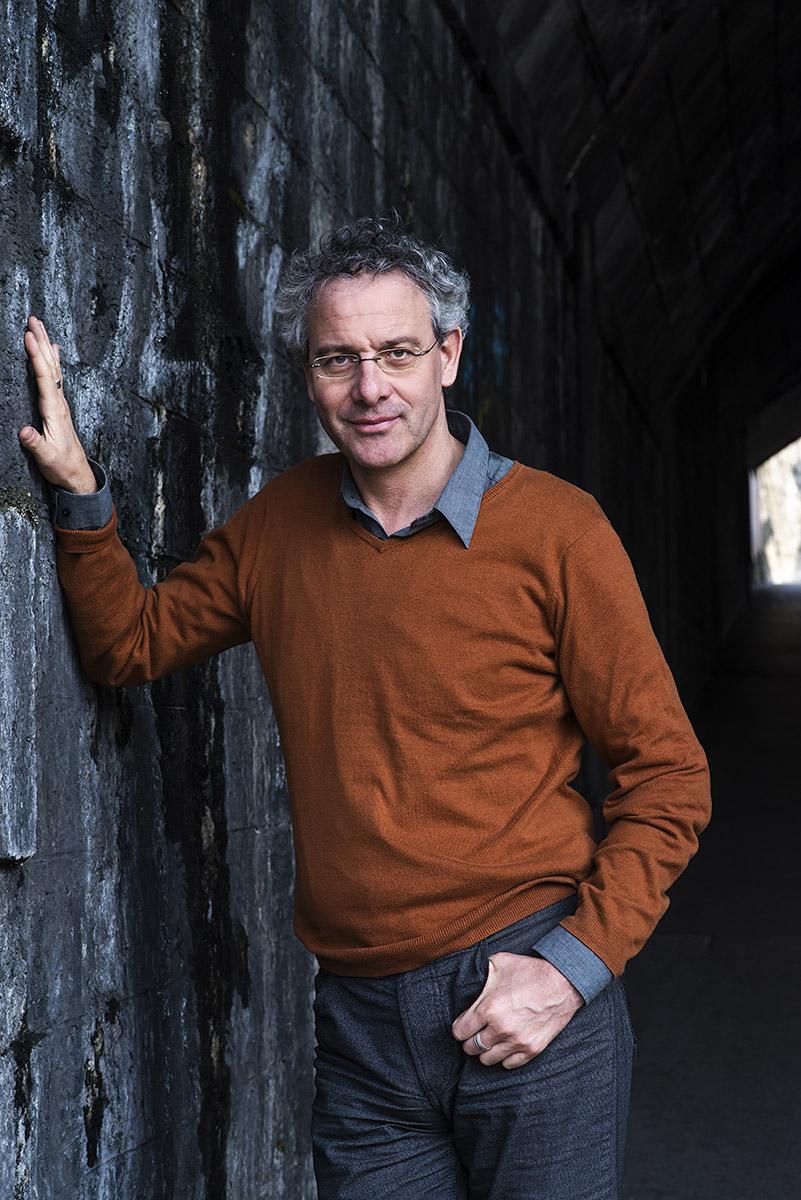 Portrait de l'écrivain Jérôme Meizoz © Thierry Porchet