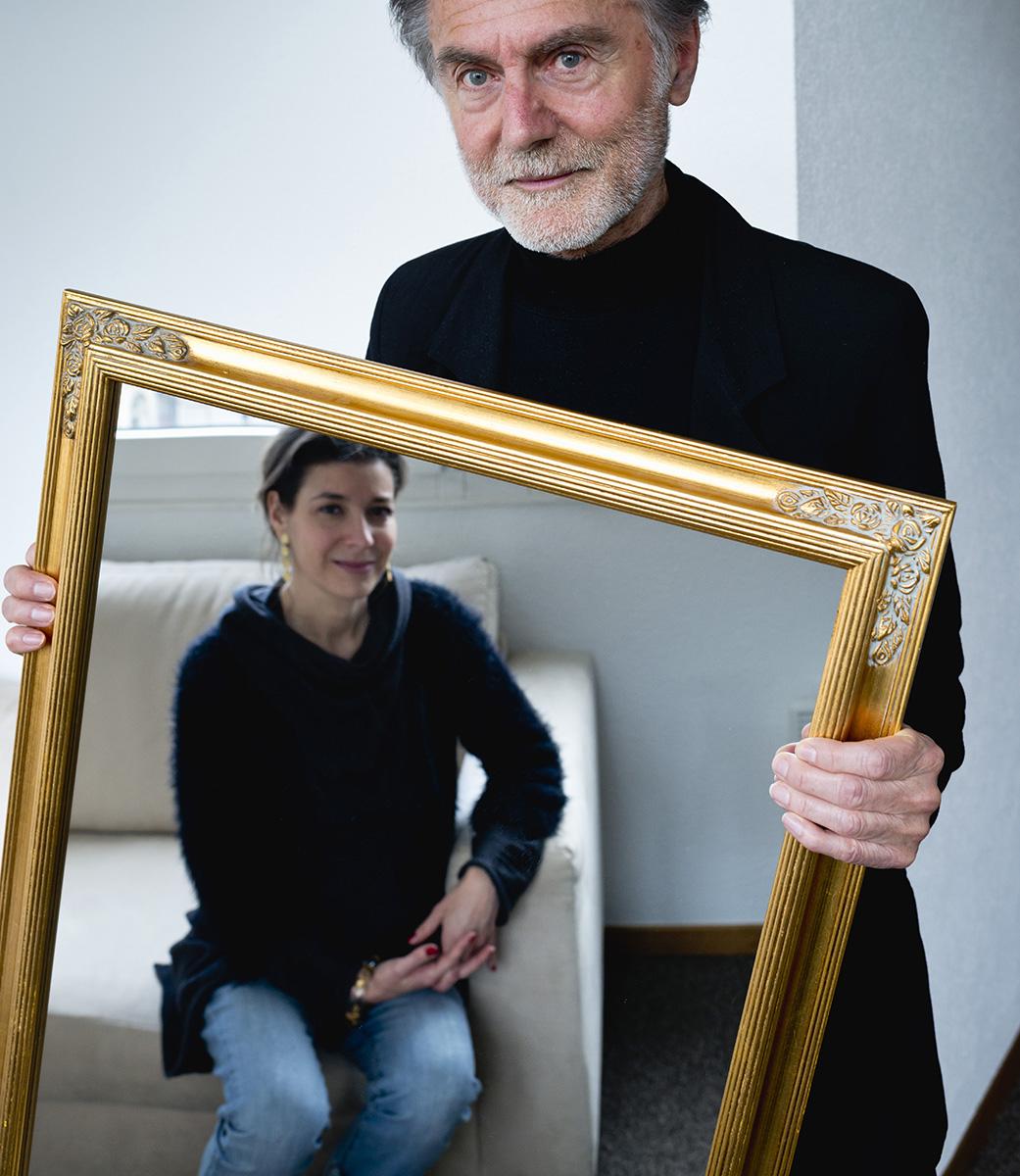 Portrait de deux spécialiste des sciences noétiques ©Thierry Porchet
