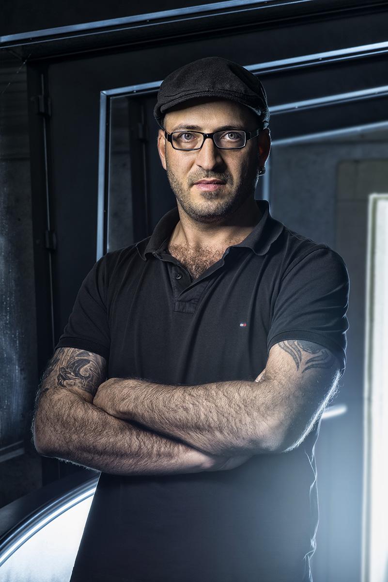 Portrait de Marc Atallah, directeur du musée de la science-fiction ©Thierry Porchet