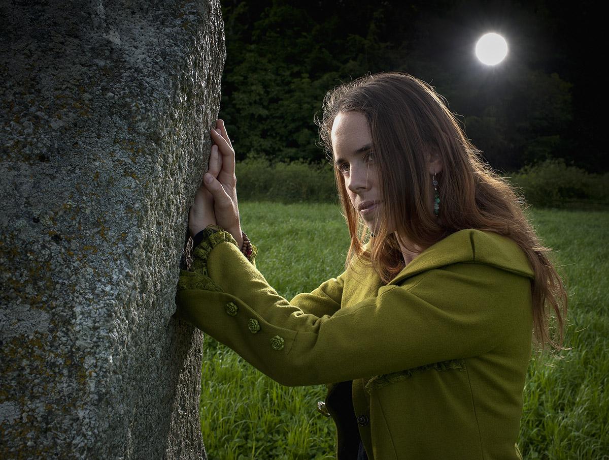 Portrait de Joelle Chautems, auteur du livre Rituels symbolique dans la nature. ©Thierry Porchet