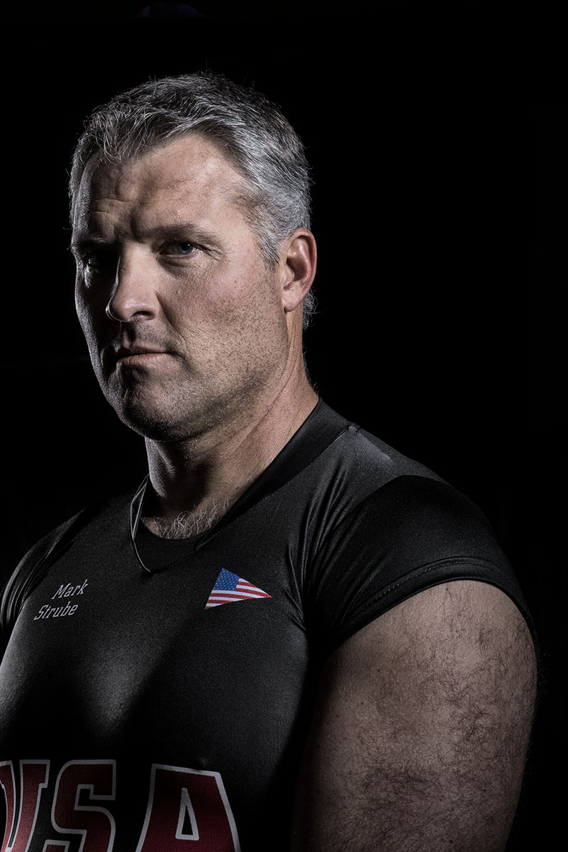 Portrait de Mark Strube, American Elite Sailor,Nassau Bahamas. ©Thierry Porchet