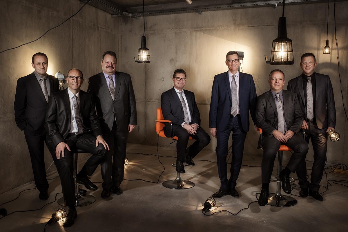 Portrait de groupe de la Fédération Vaudoise des Entrepreneurs ©Thierry Porchet