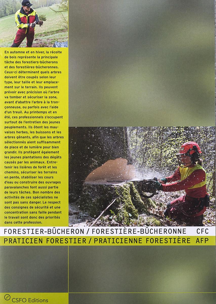 Brochure professionnelle pour le CSFO / © Thierry Porchet