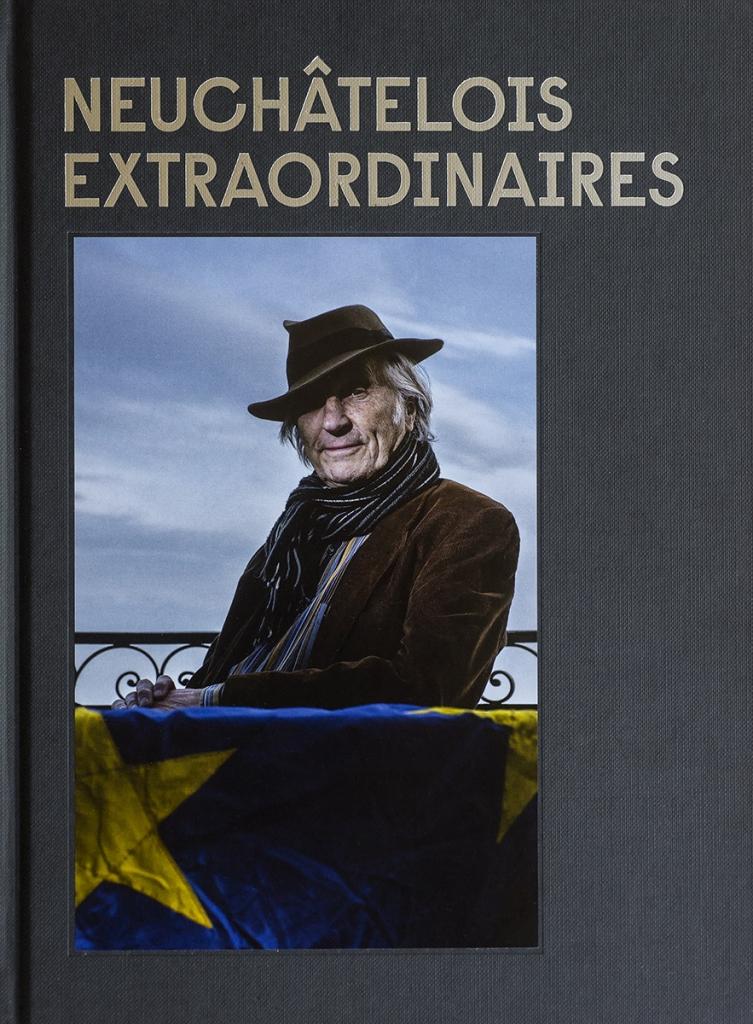 Livre, série de portrait sur les neuchatelois-extraordinaires / © Thierry Porchet