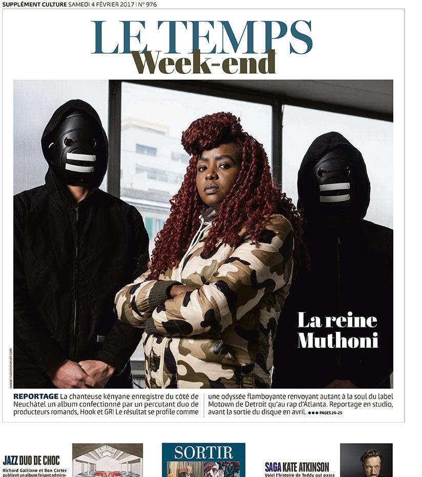 La Chanteuse Muthoni  © Thierry Porchet