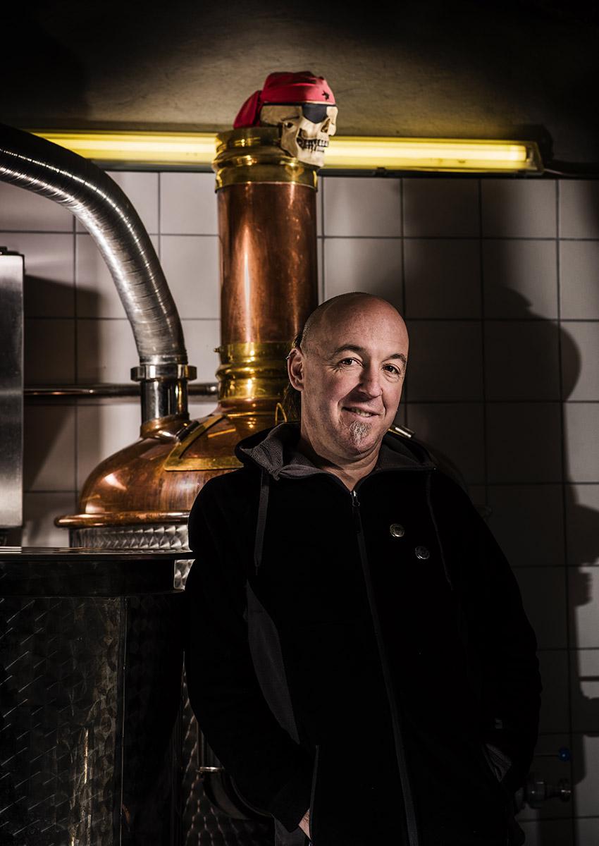 Portrait de Philippe Badan, brasseur de la Fleur de Malt  ©Thierry Porchet