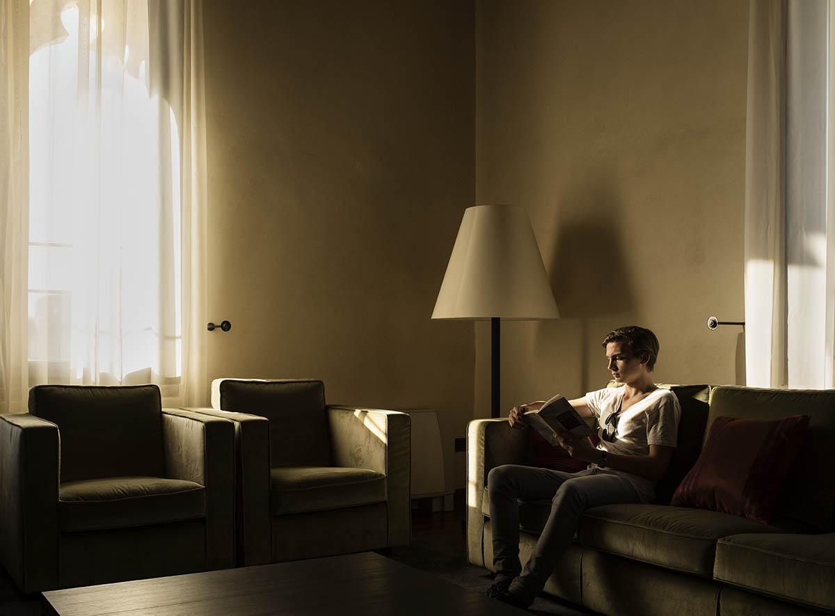 Portrait de Jean Porchet, Fortezza Viscontea, Cassano d'Adda, Italie ©Thierry Porchet