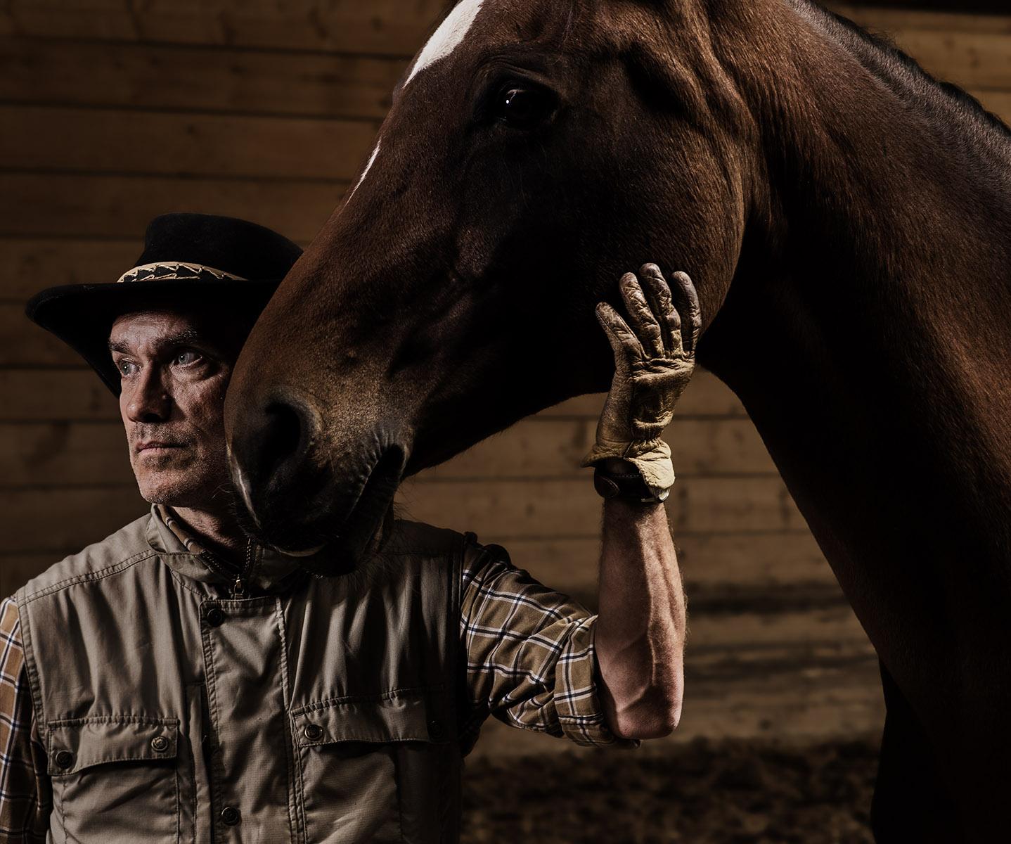German Herrero l'homme qui parle aux chevaux /©Thierry Porchet