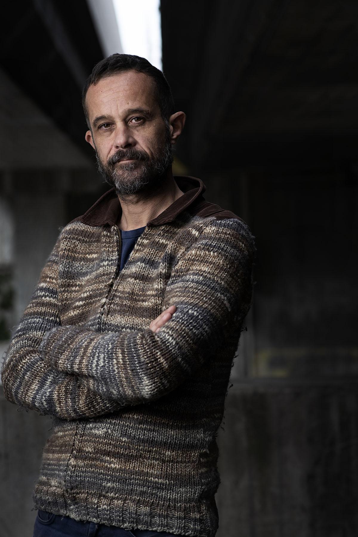 Portrait de Claude Barras cinéaste et père du film courgette ©Thierry Porchet