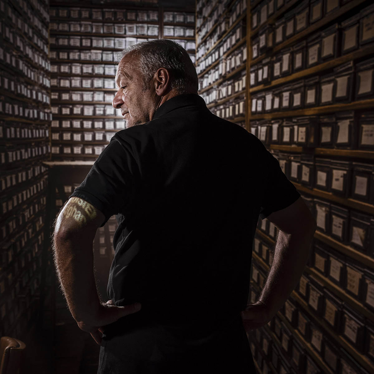 Portrait du  photographe Mario Del Curto ©Thierry Porchet