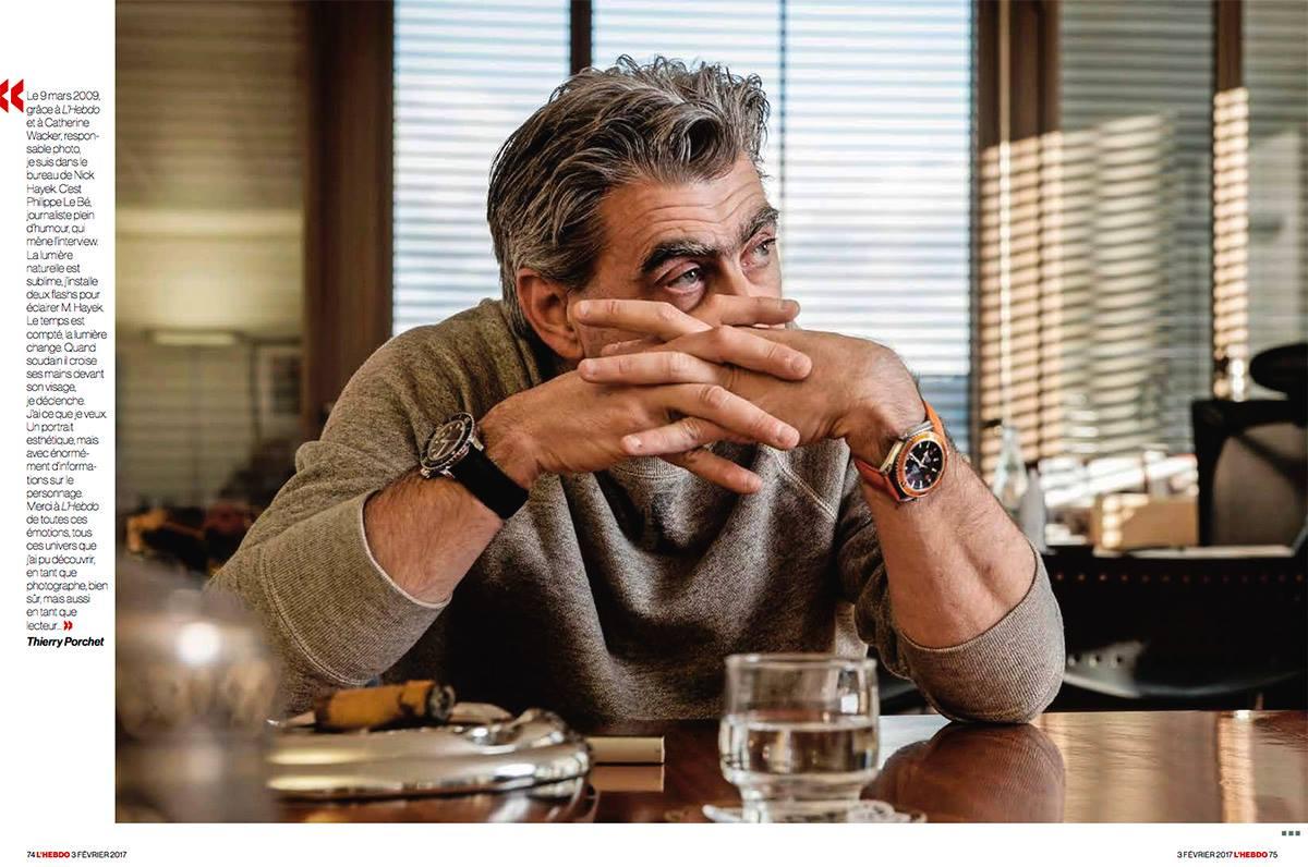 L'Hebdo rend hommage à ses photographes ©Thierry Porchet