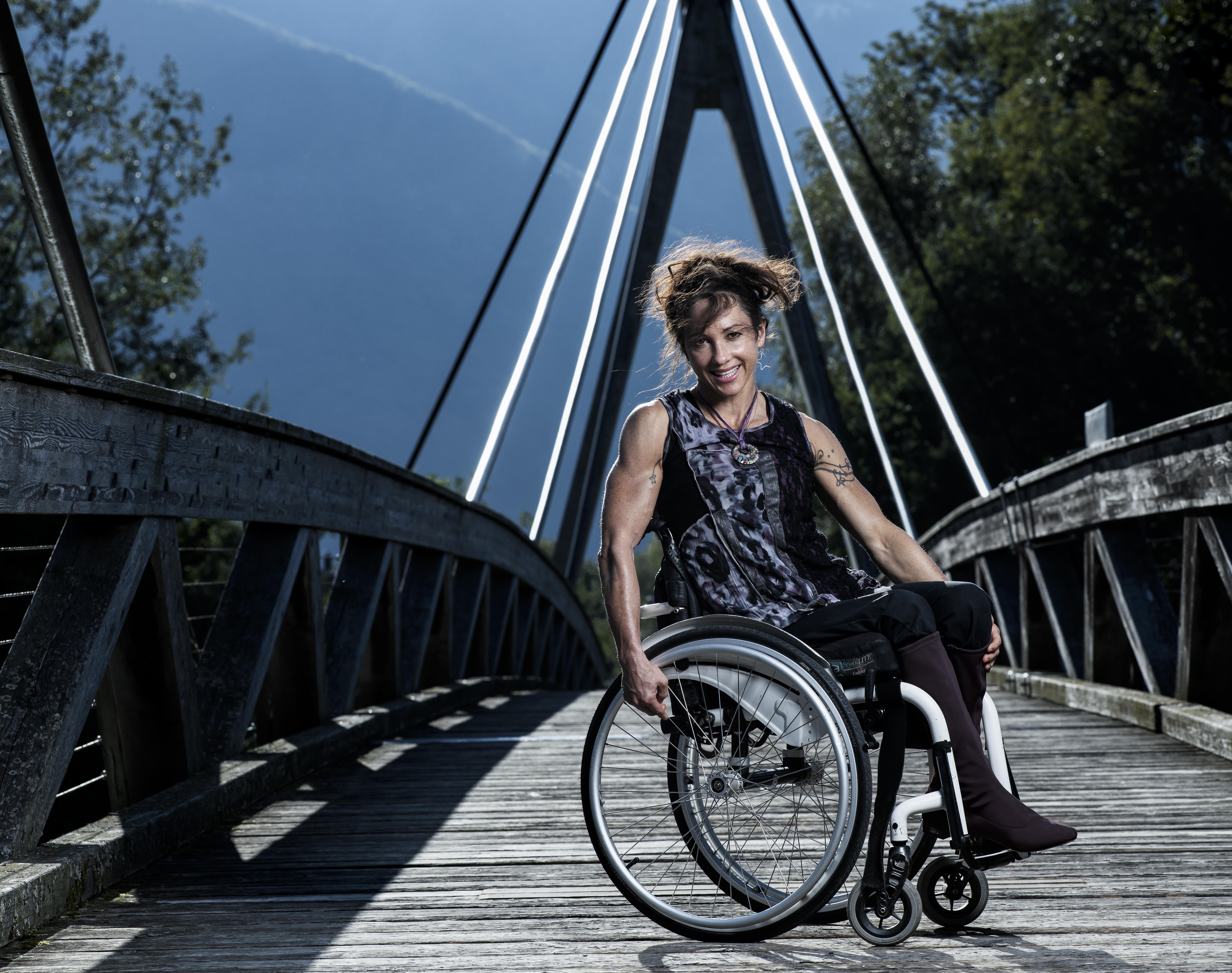 Portrait de Silke_Pan athlète paraplégique ©Thierry Porchet