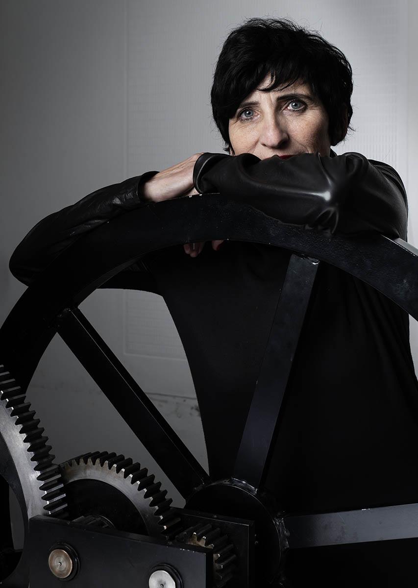 Eliane Gervasoni, l'art de s'arrêter pour regarder les ombres passés ©Thierry Porchtt