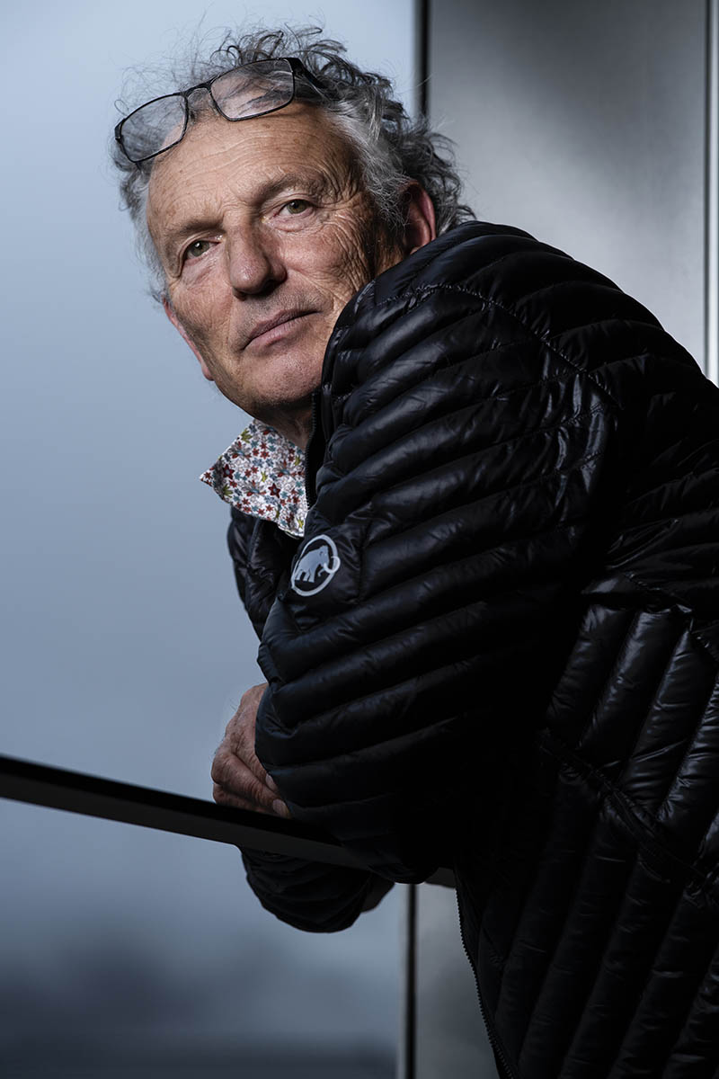 Francois Burland, plasticien, artiste  ©Thierry Porchet
